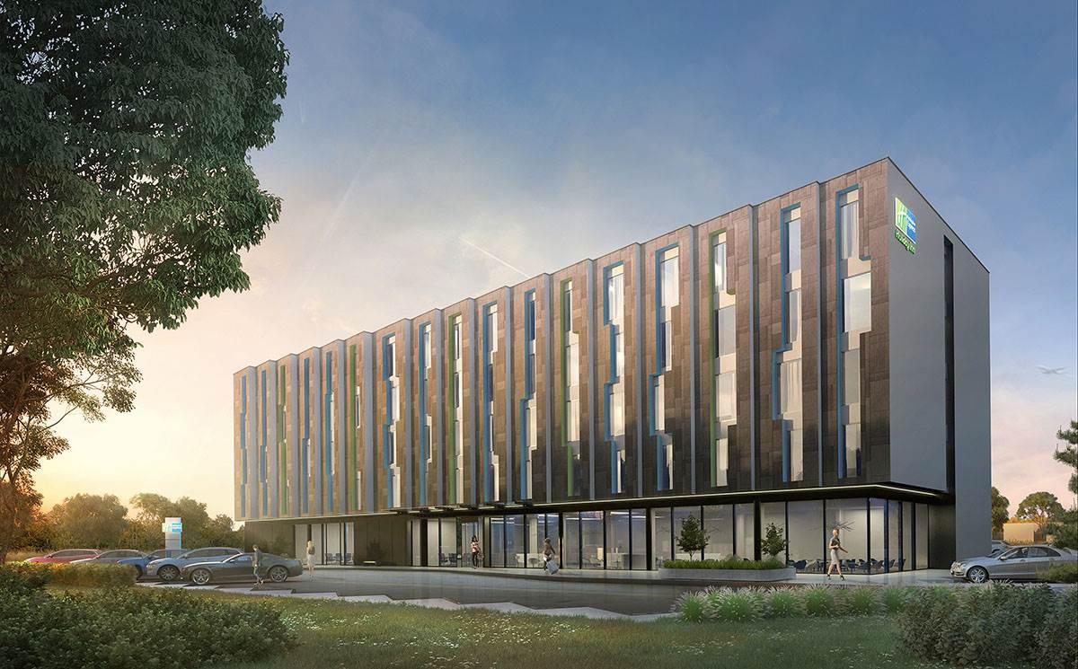 Zaprezentowano koncepcję wizualną hotelu przy lotnisku w Jasionce