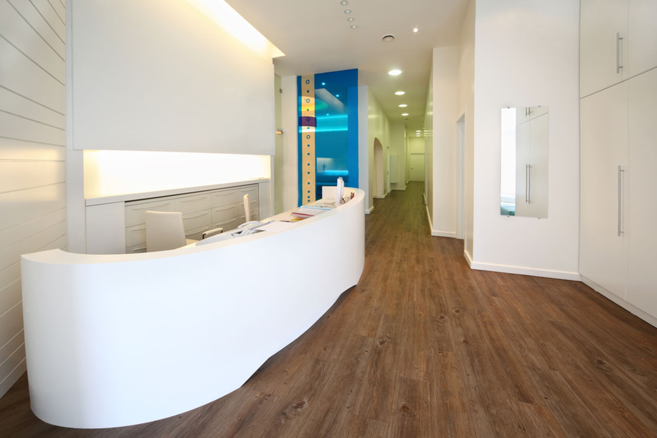 Farby w nowoczesnych salonach kosmetycznych i gabinetach medycznych